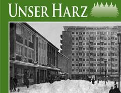 Unser Harz - Zeitschrift bei der Oberharzer Druckerei